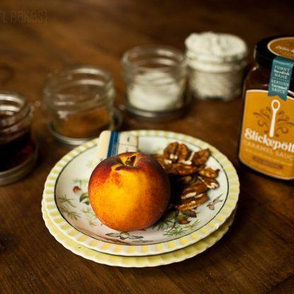 Caramel Crumb Pecan Peaches :: Granola Giril Bakes 15