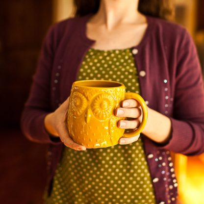 My Owl mug from my night-owl friend! :)