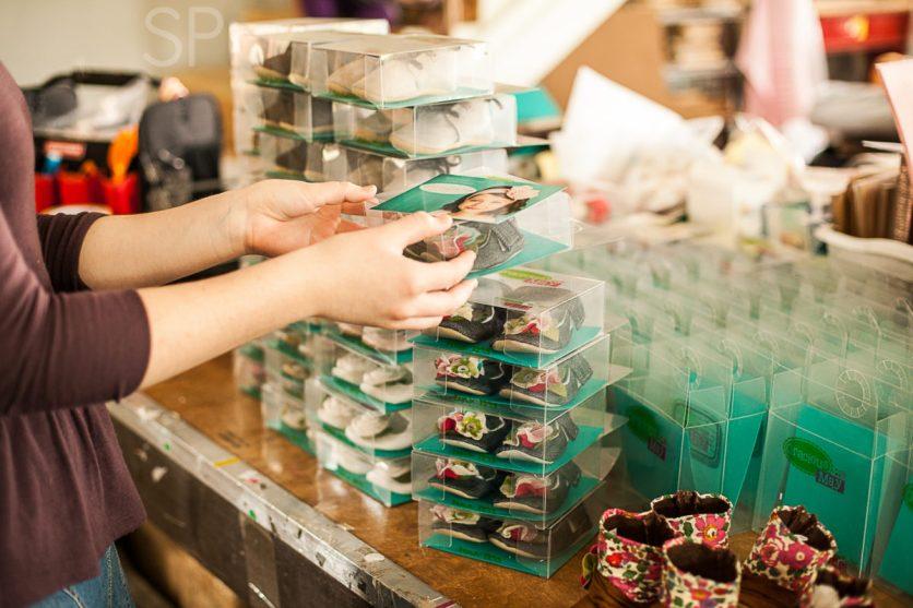 Lydia packaging orders! :)