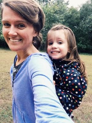 Me & Emmi :) Piggyback ride