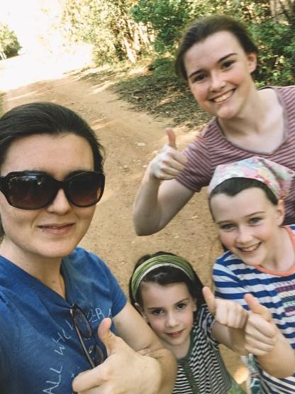 Lydia, Ruth, Bekah, + Emmie