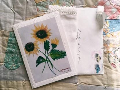 Sweet postal surprise!!!!!