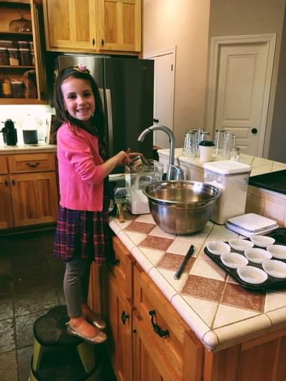 Pumpkin Bread Baking with Emmi