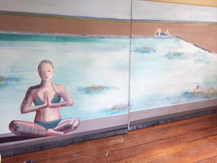 Diptych 4ft x 8ft