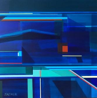 """Littoral No. 320,"" 20 x 20"", Acrylic on Canvas"
