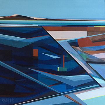 "Brant Rock, 20 x 20"", Acrylic on Canvas"