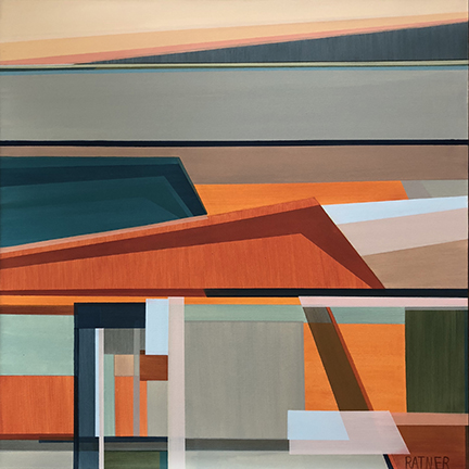 Shilo Ratner_Simple Observer_36 x36in_Acrylic_Small