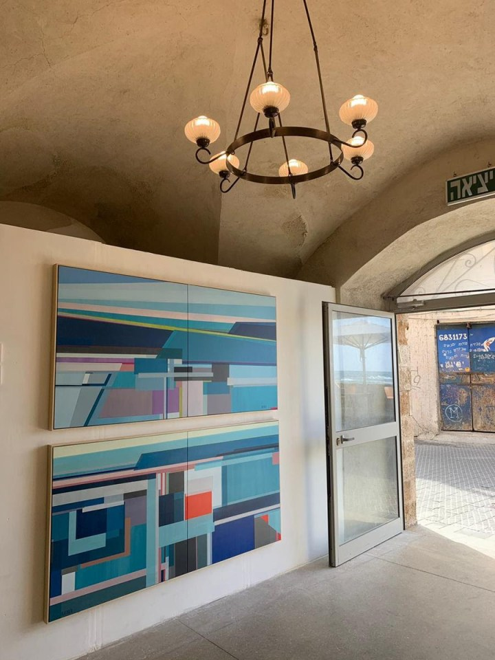 Artist Shilo Ratner Paintings in Tel Aviv at the MIKA Gallery