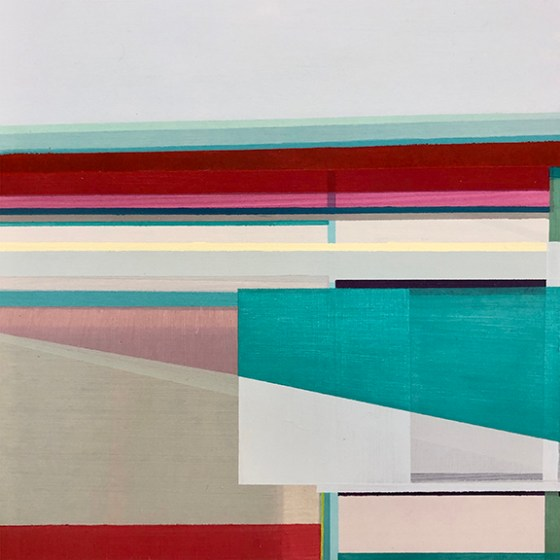 Artist Shilo Ratner_ Shoreline 2_Acrylic on Panel_10inches
