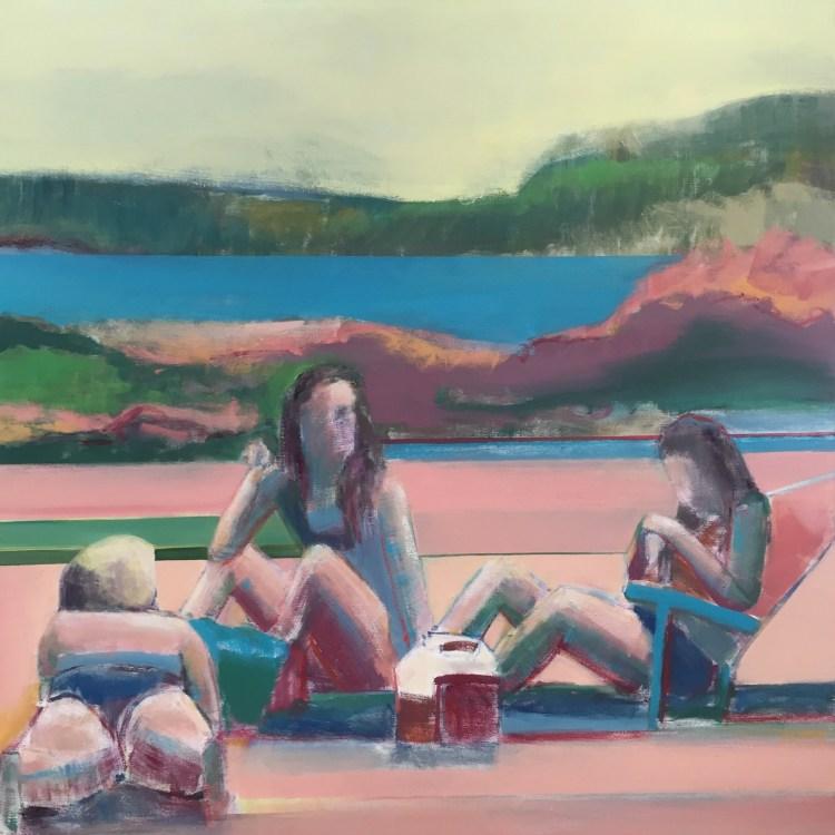 Artist Shilo Ratner_Beachside_OilPainting_Available