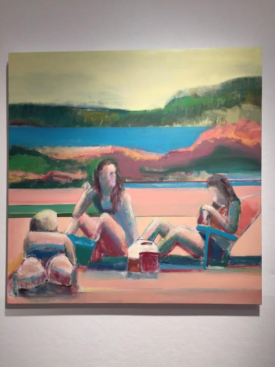 Artist Shilo Ratner_Beachside_Wall View
