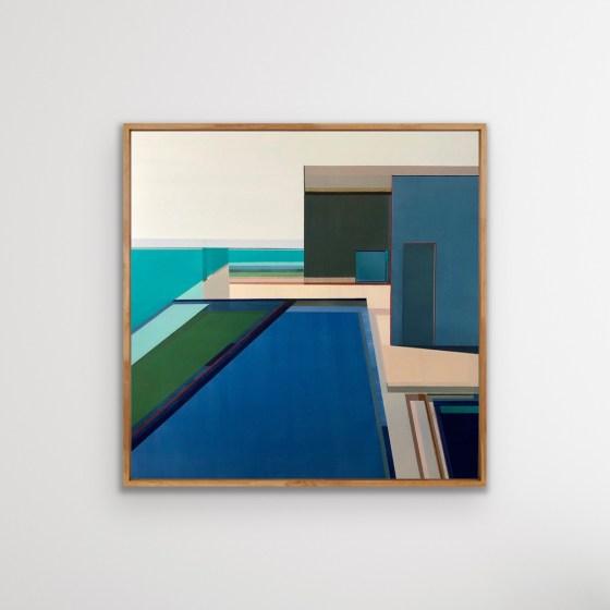"""Artist Shilo Ratner_Ocean View_40"""" x40"""""""