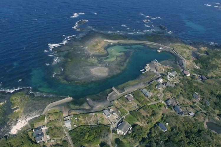 赤島空撮画像