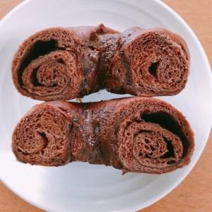 スライス生チョコレートベーグル5