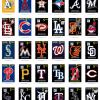 MLB Vinyl Decals