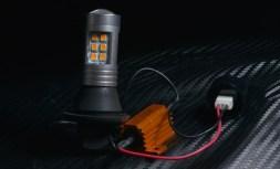 フロントはこちら。 放熱できる環境があるので、 メタルクラッドキャンセラー付き2835PowerChipハイスペックウィンカーVer.2です。