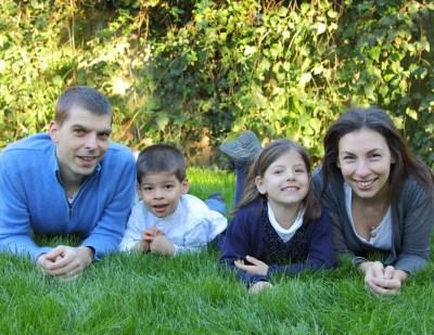 Family photoshoot, South London