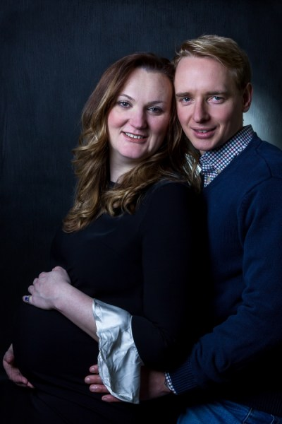 Maternity photo shoot in Tooting