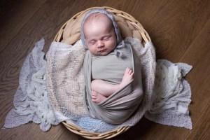 Newborn photo shoot, Tooting