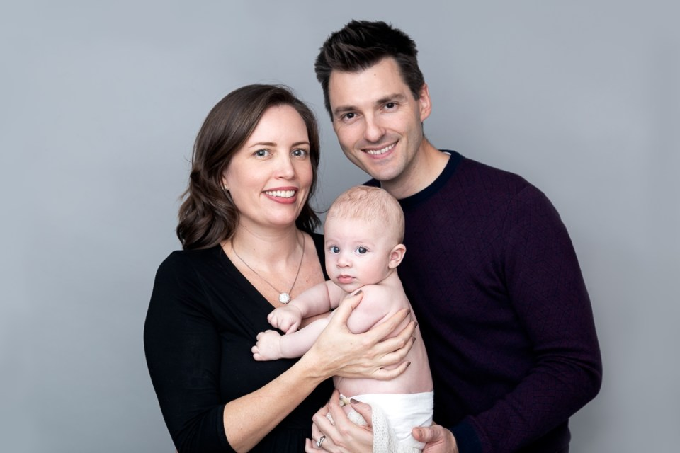 Family photo shoot in Tooting Bec, 26 January