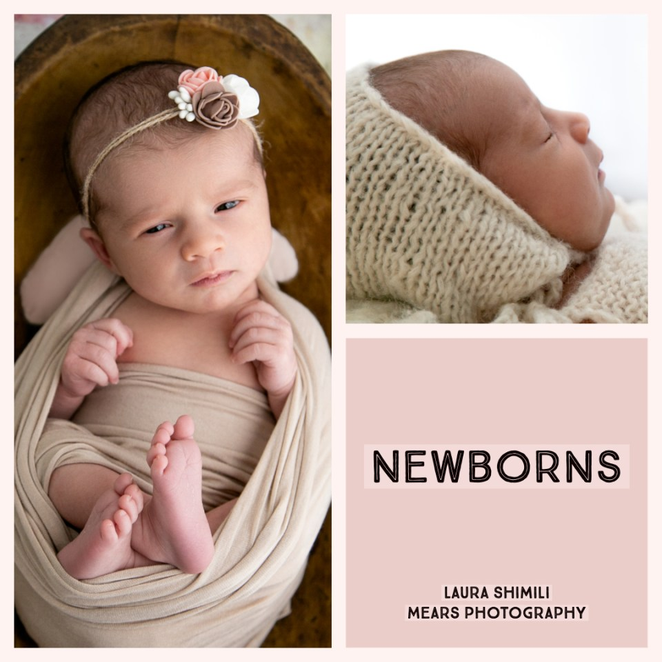 Newborn photography, what happens during a session, Tooting photographer