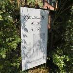 世田谷区大蔵:美術館と工房の看板のリニューアル