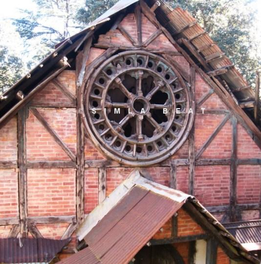 Shimla Chapel near IIAS