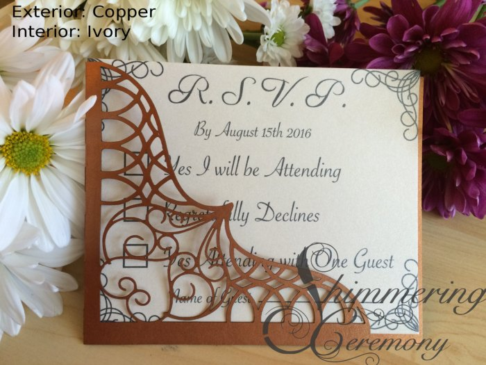Moroccan wedding RSVP pocket laser cut boho party Arabian Nights kit bohemian