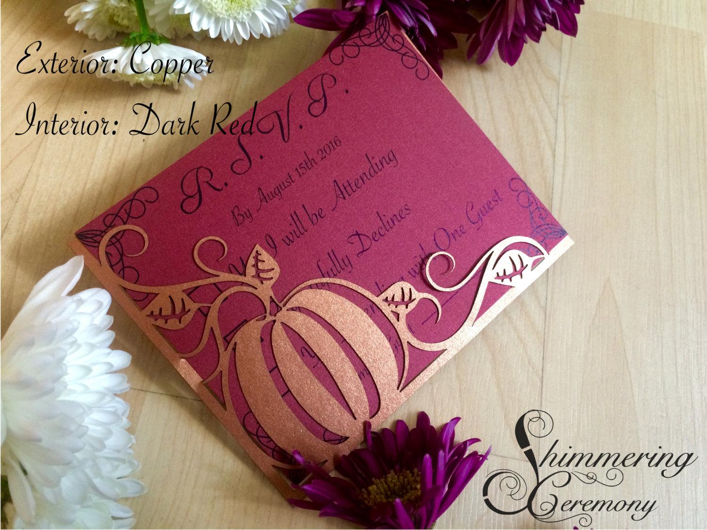 pumpkin-wedding-rsvp-cards-laser-cut-pocket-fall-halloween-autumn ...