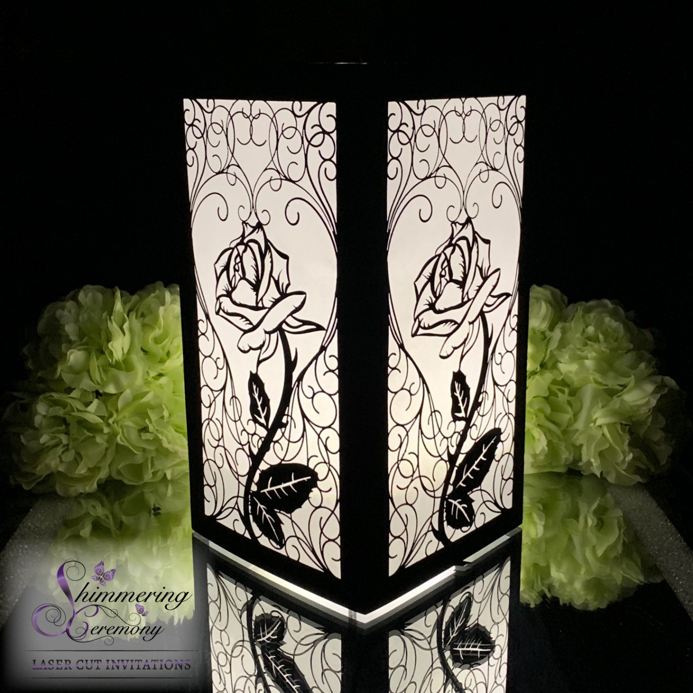 gothic wedding centerpieces beauty and the beast