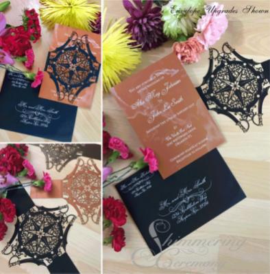 steampunk Wedding Invitations pirate compass