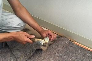 長野市マンションのカーペットの床張替え工事