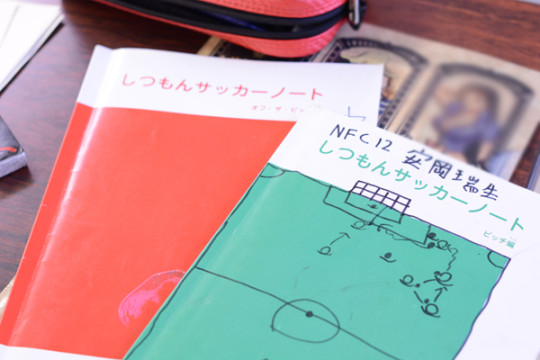 サッカーノートが人気です!