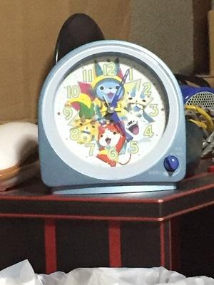妖怪ウォッチ目覚まし時計