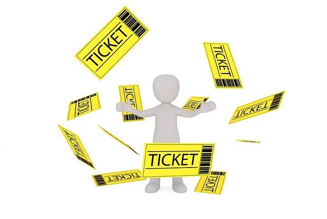 チケットと人