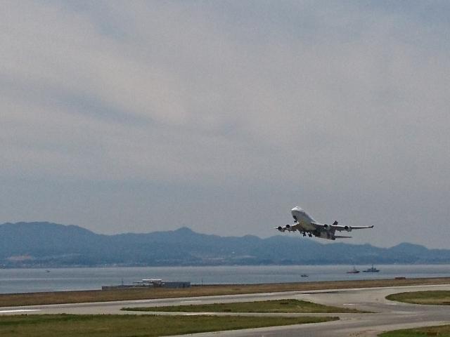 関空の飛行機