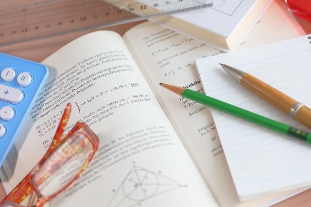 教科書や鉛筆