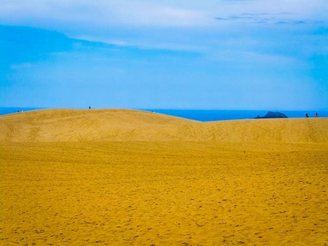 鳥取砂丘の砂