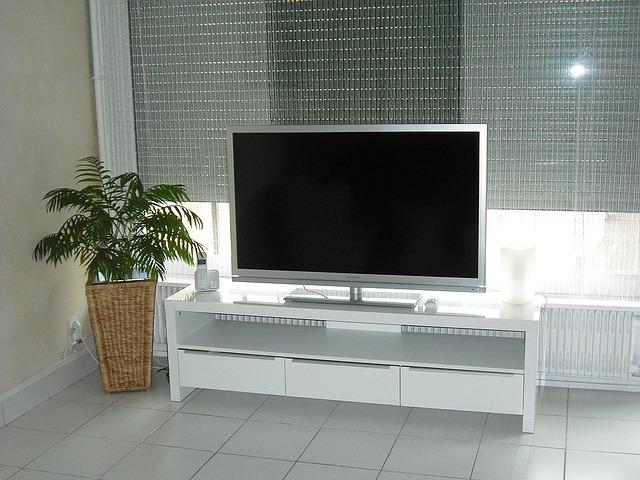 家に置かれたテレビ