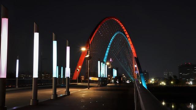韓国の綺麗な橋