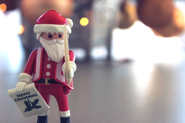 サンタの人形
