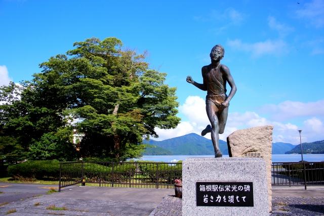 箱根駅伝の銅像