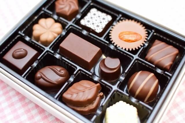市販のチョコレートアソート