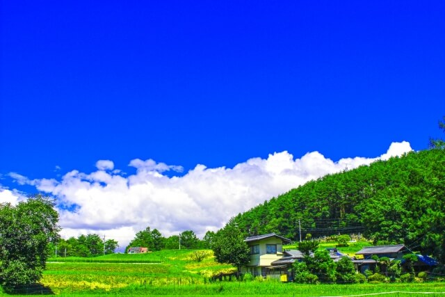 長野の綺麗な風景