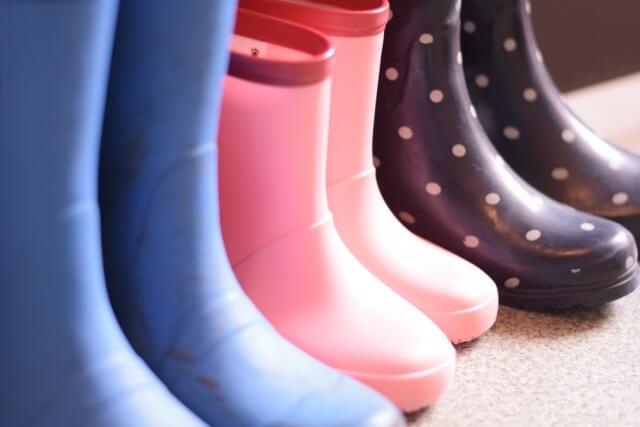 大人用と子供用の長靴