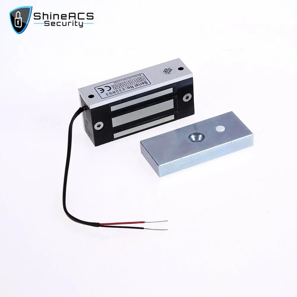 60KG Mini Single Magnetic Lock SL M60 2 - ShineACS Access Control Products