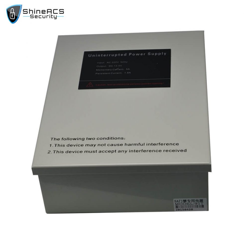 Access Control Power Supply SP 91T 1 980x980 - 5A Full Voltage-stabilizing Uninterrupted Power Supply