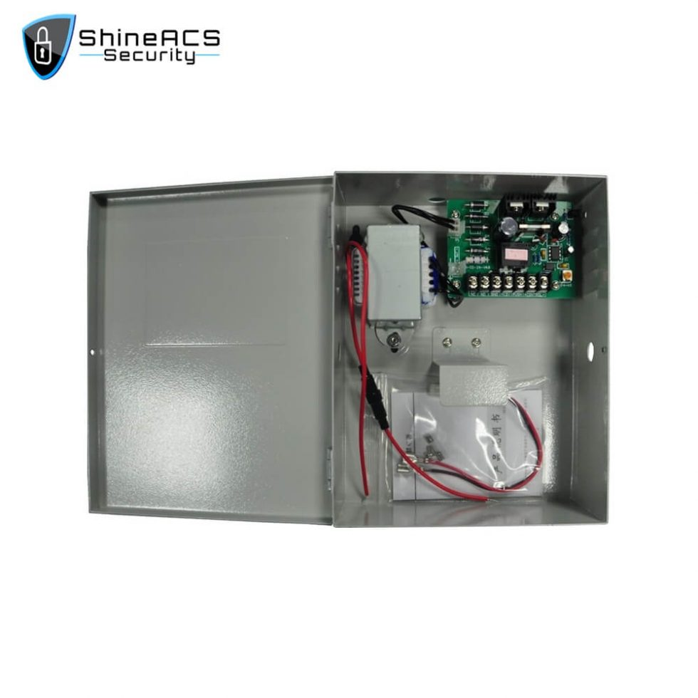 Access Control Power Supply SP 94L 2 980x980 - 3A Semi Uninterrupted Access Control Power Supply