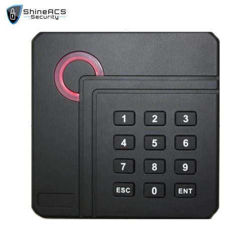 Access Control Proximity Card Reader SR 04 1 500x500 - Access Control 125KHz/13.56MHz Card Reader SR-09
