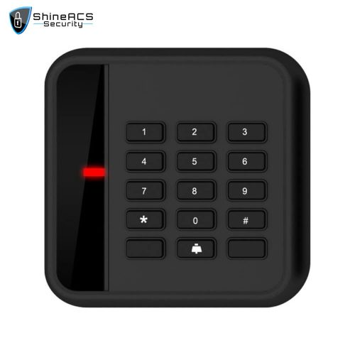Access Control Proximity Card Reader SR 07 1 500x500 - Access Control 125KHz/13.56MHz Card Reader SR-09